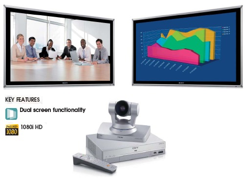 Multipunkt Konferenz Videokonferenz HD Qualitaet