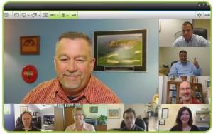 multipoint videokonferenz webcam