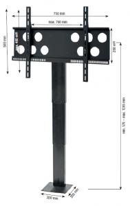 Einbau Lift für Displays