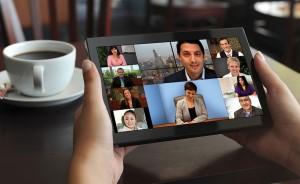 Konferenzraum Videokonferenz Möbel mobile Endgeräte
